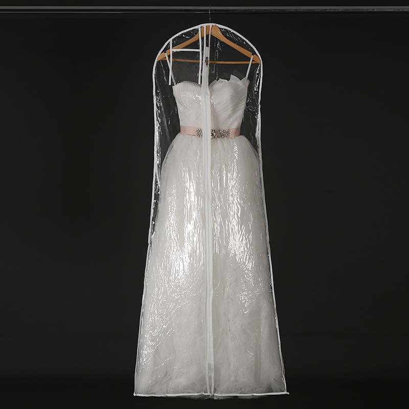 Transparent Wedding Dress Dust Cover Omniseal Extra Large Waterproof PVC  Solid Wedding Garment Storage Bag Size S/M/L ZA1823 In Storage Bags From  Home ...