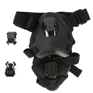 Image 5 - تبادل لاطلاق النار الكلب جلب تسخير شريط للصدر حزام الكتف جبل ل GoPro بطل 6 5 4 3 2 ل SJ4000 عمل الكاميرا