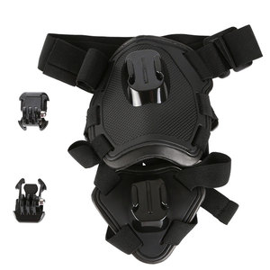 Image 5 - לירות כתף כלב להביא רתם חזה רצועת חגורת הר עבור GoPro Hero 6 5 4 3 2 עבור SJ4000 פעולה מצלמה