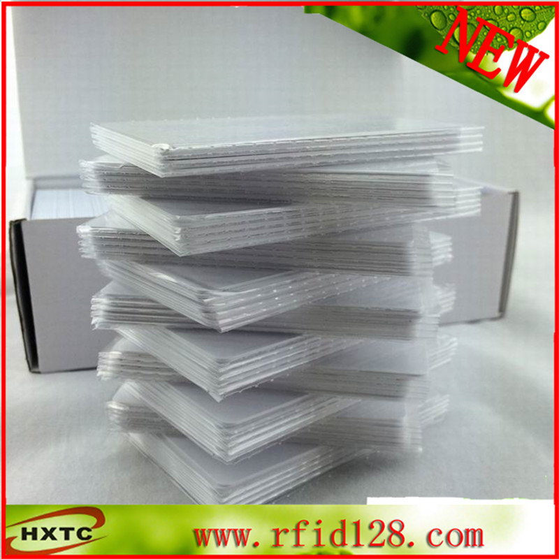 Factory price PVC blank card Ntag215 13.56MHz rewritable Ntag 215 nfc card 100pcs 10pcs fm1108 contactless ic card blank white pvc card factory sales m1 card