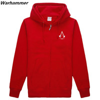 ASSASSIN S CREED UNITY Cotton Hoodie Sweatershirt Printing Man Sportswear Winter Unique Fit Large Size Team