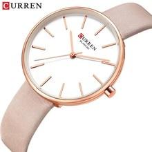 Watches Female Dress Montre Clock Quartz Ladies Wrist Analog Casual Simple CURREN Femme
