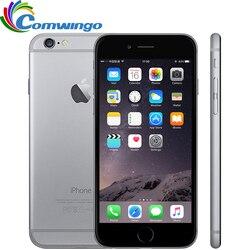 Original desbloqueado iphone 6 16g/64g/128g rom ios sistema 4.7 core core duplo núcleo 8 pm gsm wcdma lte telefone móvel iphone 6 melhor iphone