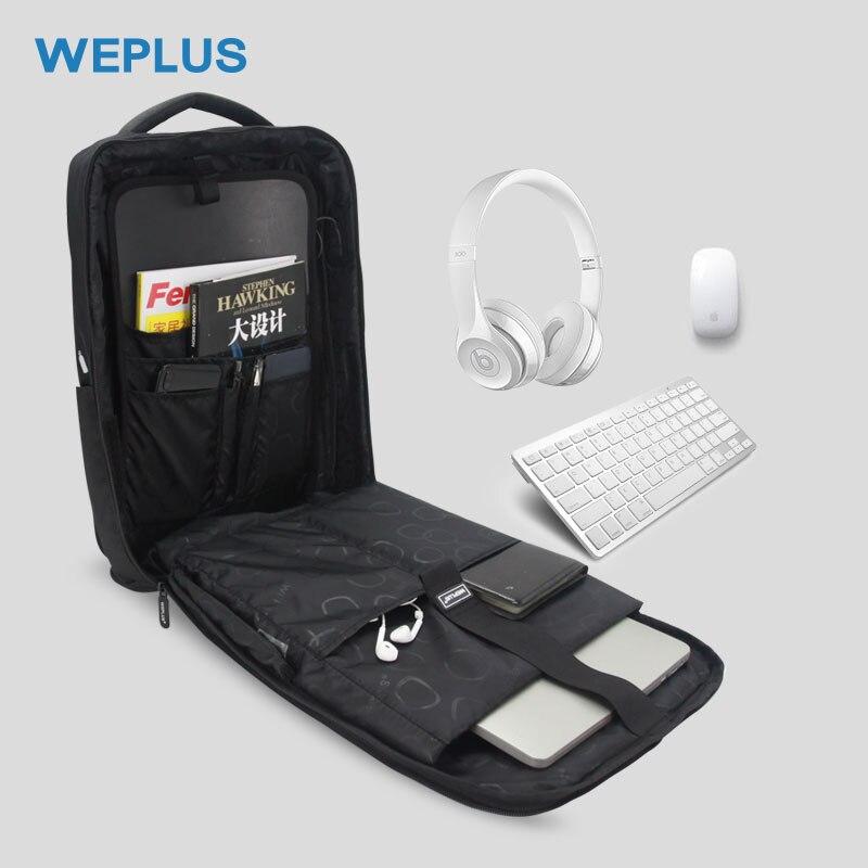 WEPLUS 15.6 pouces sac à dos pour ordinateur portable mâle multifonction USB sac à dos de charge hommes femmes étanche voyage sac à dos Mochila Anti voleur