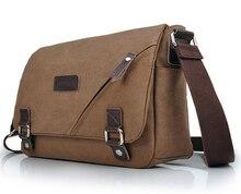 MAGIC Hot Sale! Veevan vintage men messenger bags canvas shoulder bag men business bag travel bag free shipping