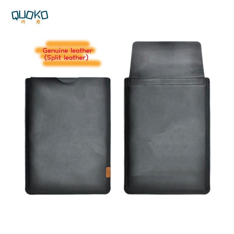 Прибытие продажа ультра тонкий супер тонкий рукав чехол, натуральная кожа ноутбук рукав чехол для lenovo Yoga Book 2 10,8