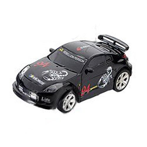 Vertrouwend Mini Rc Remote Controlled Auto Racing Car Speelgoed In De Drank Kan 1:58 (zwart) Nieuwe