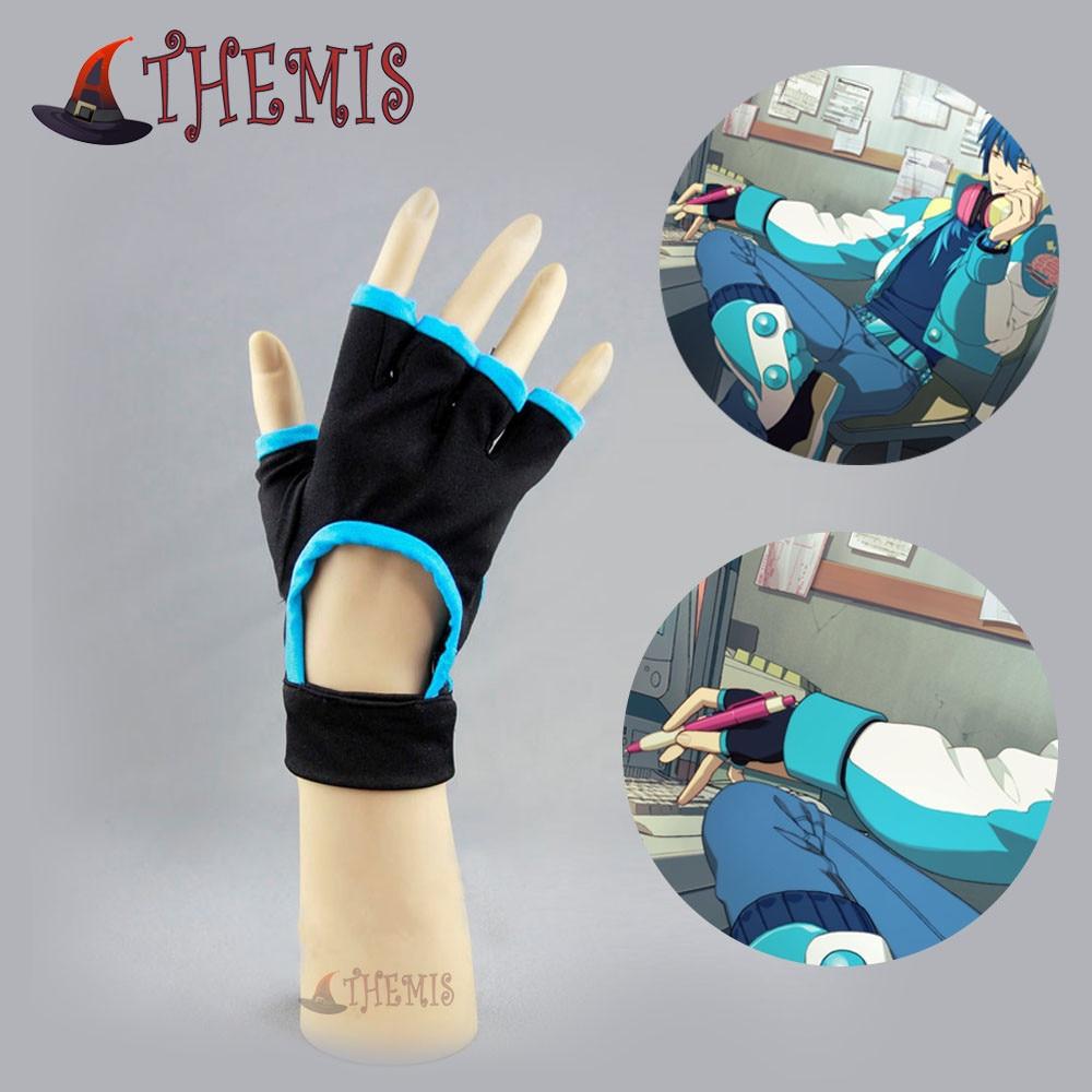 Athemis Dramatical Murder Seragaki Aoba Glove Anime Cosplay Custom Made Any Size High Quality
