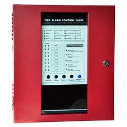 Sistema de alarma de Panel de Metal a prueba de fuego, controlador de lucha contra incendios FACP con 8 zonas