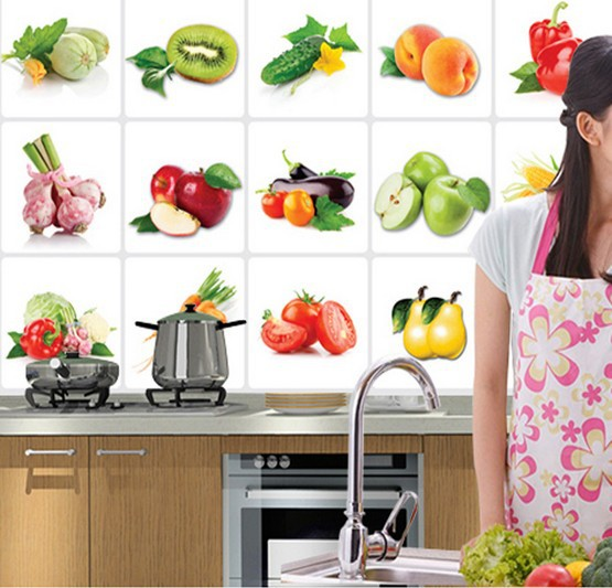 Waterproof Oil High Temperature Fruits And Vegetables Background