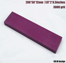 3000grit  Ruby Oilstone Knives whetstone 200*50*12mm Grinder Stone