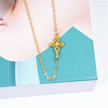 ZCHLGR 2019 New Gold Vintage Retro hollow Pearl Necklace For Women Girls  Choker Necklaces & Pendants Female Jewelry