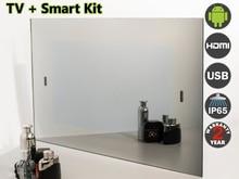 "19 ""TV Espejo impermeable para Baño + Smart Kit, sintonizador analógico (NTSC, PAL, SECAM), AVS190FS. envío libre."