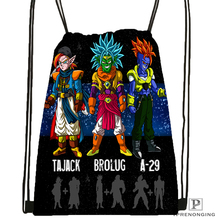 Custom Dragon Ball Kai Goku Drawstring Backpack Bag Cute Daypack Kids Satchel Black Back 31x40cm 180531