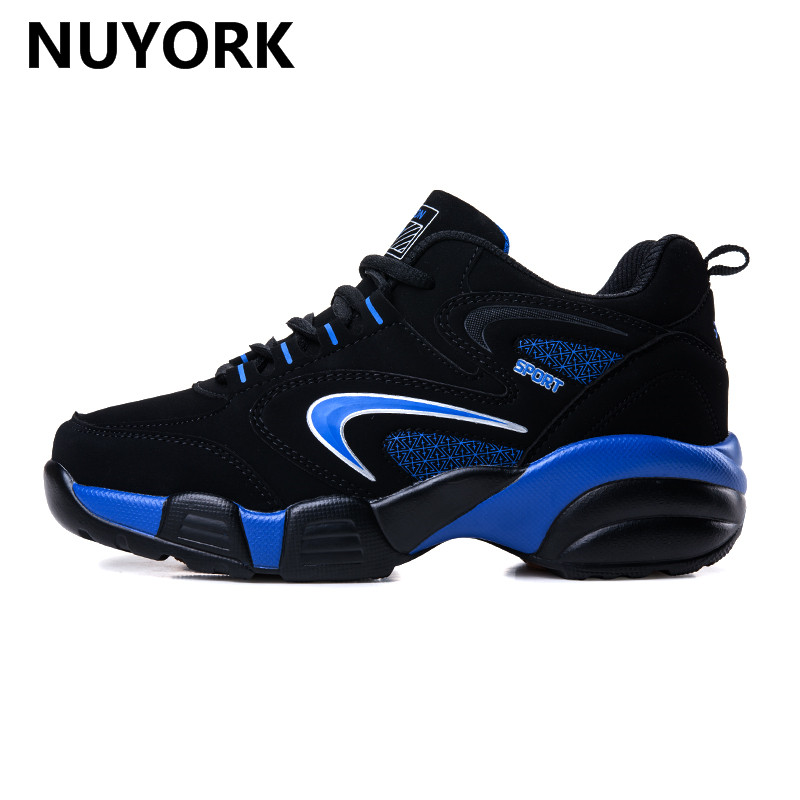NUYORK Outdoor Couples Lace-up sneakers Cow MuscleTrend Of Men Shoes Winter luxury brand Running Shoes 2017 Comfortable Women