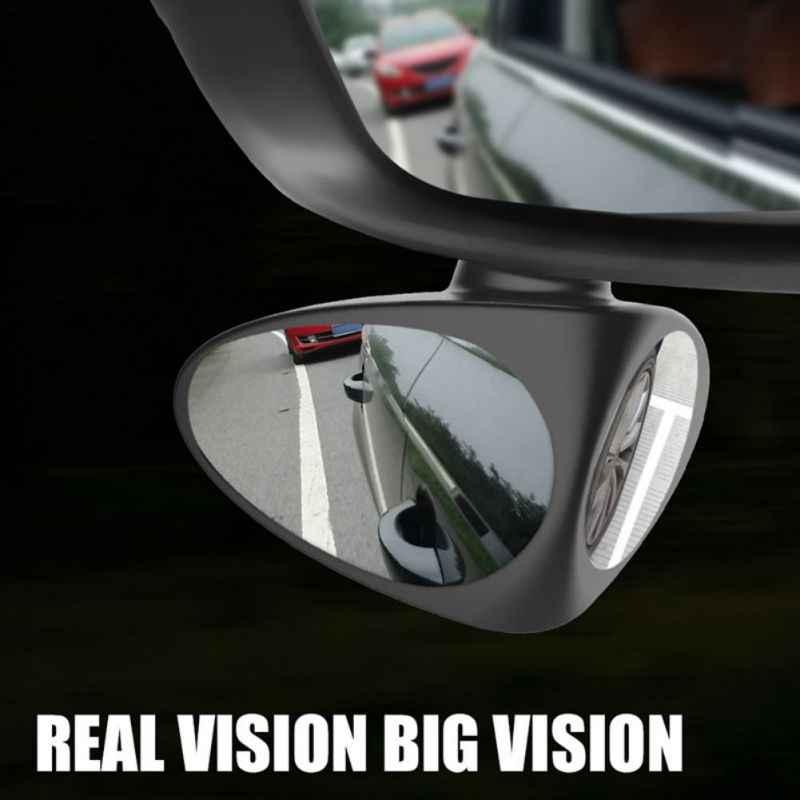Новое 2 в 1 Автомобильное Зеркало для слепых зон широкоугольное зеркало 360 Вращение регулируемое выпуклое зеркало заднего вида вид переднее колесо Автомобильное Зеркало