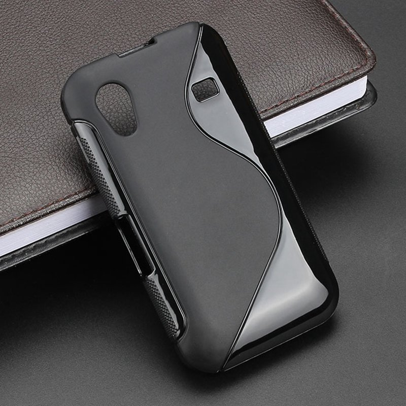 S-Line Anti Skidding Gel TPU Soft Case Back Cover For Samsung Galaxy Ace S5830i GT S5830 ...