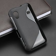 S-Line Anti Skidding Gel TPU Soft Case Back Cover For Samsung Galaxy Ace S5830i GT S5830 GT-S5830i Mobile Phone silicone Cases