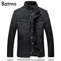 Batmo 2017 new arrival winter high quality thick jackets men,casual men's park Parkas, plus size L to 7XL 7705