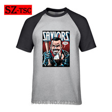 2019 Mens T-shirt negan saviors lucille is thirsty Print Hipster Funny t shirt Men Summer Casual street Tee Male Tops