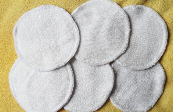 120pcs/lot washable 100%bamboo bra pads breast pad nusring pads