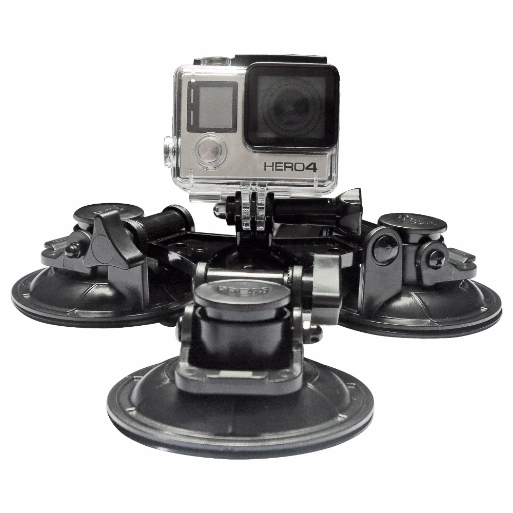 SHOOT Large Small Size Car Window Suction Cup Mount for GoPro Hero 5 4 3 HERO5