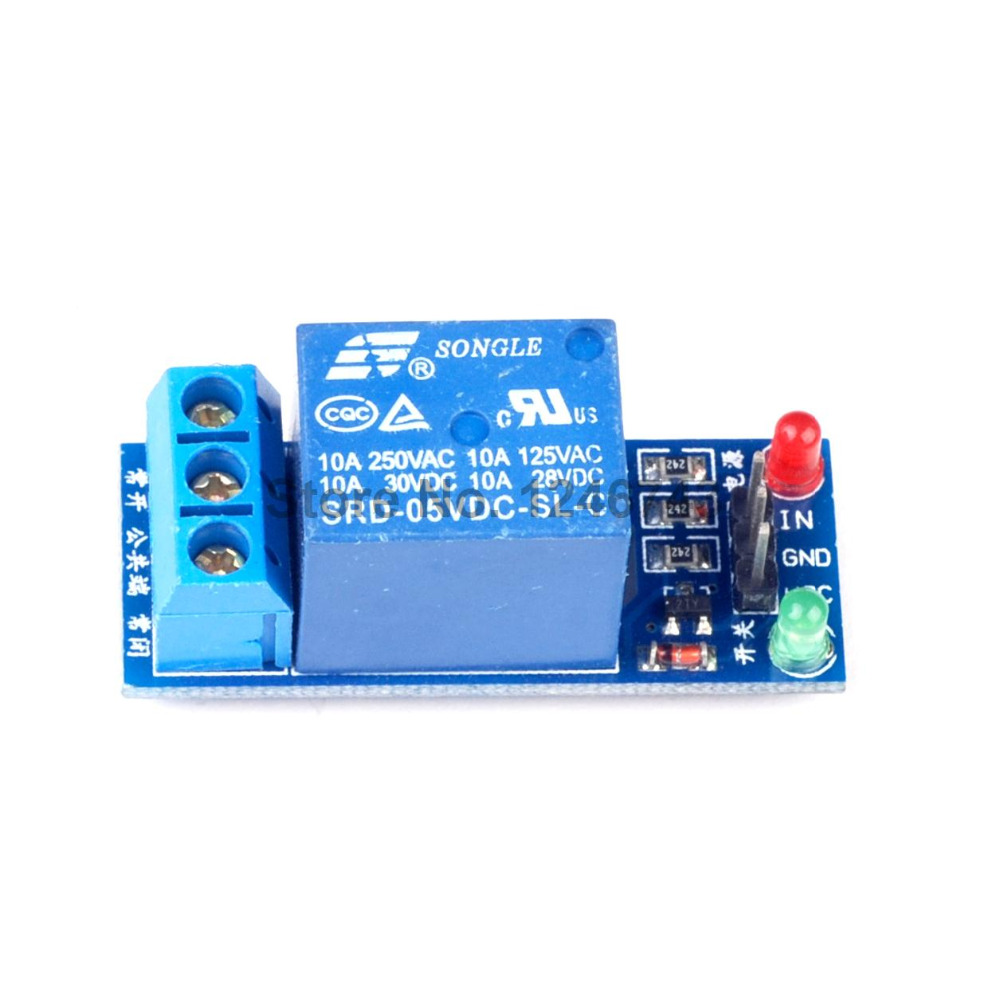 1PCS 5V Relay Module 1 Channel Low level for SCM Household Appliance Control For font b