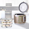 90 w 5/6l automático preto alho fermentador casa diy zymolysis zymosis pot maker 110 v 220 v alho preto máquina de fermentação
