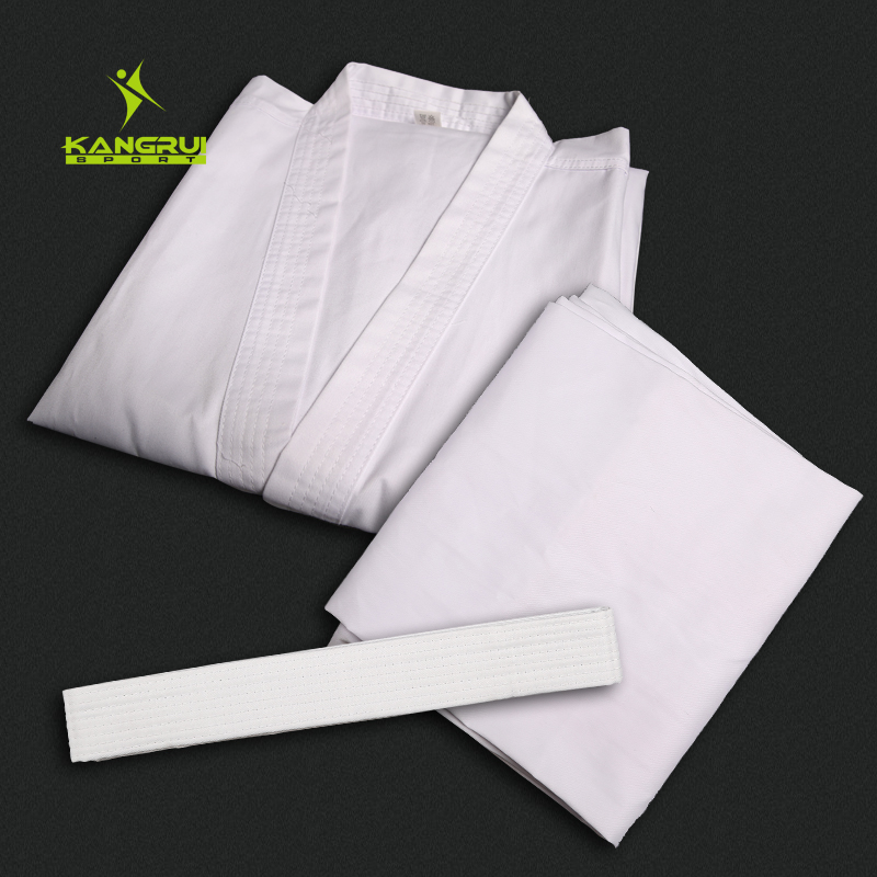 Karate Uniforms Taekwondo dobok Uniforms Children Adult men women Karate Uniform Training Suit White Karate Performance Clothes j calicu taekwondo dobok adults children male taekwondo poomsae clothes cool cotton striped genuine for have dan persons karate
