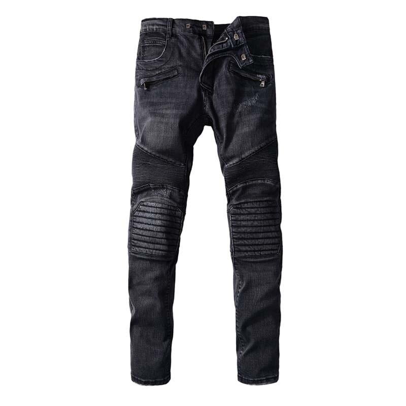 Black Designer Mens Jeans - Xtellar Jeans
