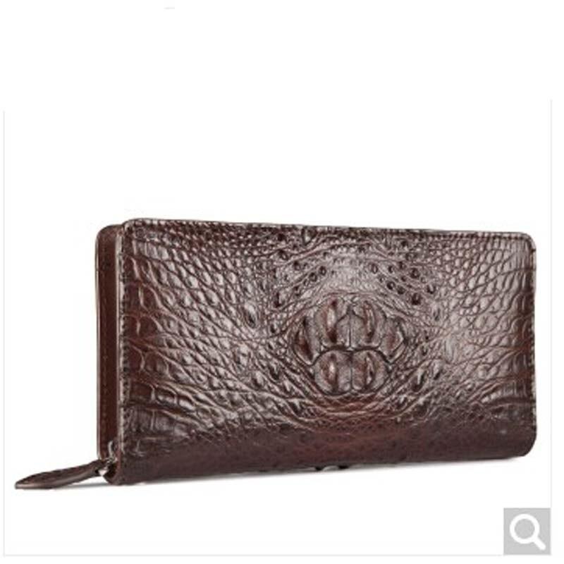 fasiqi crocodile Leather man clutch bag business Leisure wallet man black head crocodile leather hand bag crocodile leather crocodile crocodile cr225r black gold page 8