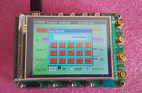 New 40MHz LCD AD9850 DDS Signal Generator Ramp FSK STM32F103 Controller Board