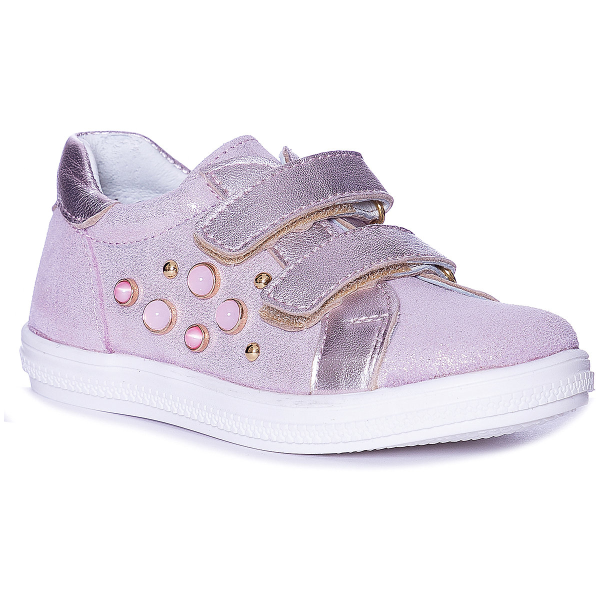 KOTOFEY Children Casual Shoes 10813996 sneakers running shoes for children Pink sport Girls Leather MTpromo miyagina high quality genuine leather women shoes female casual fashion flats spring autumn driving shoes women leather loafers