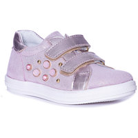 KOTOFEY Children Casual Shoes 10813996 sneakers running shoes for children Pink sport Girls Leather MTpromo