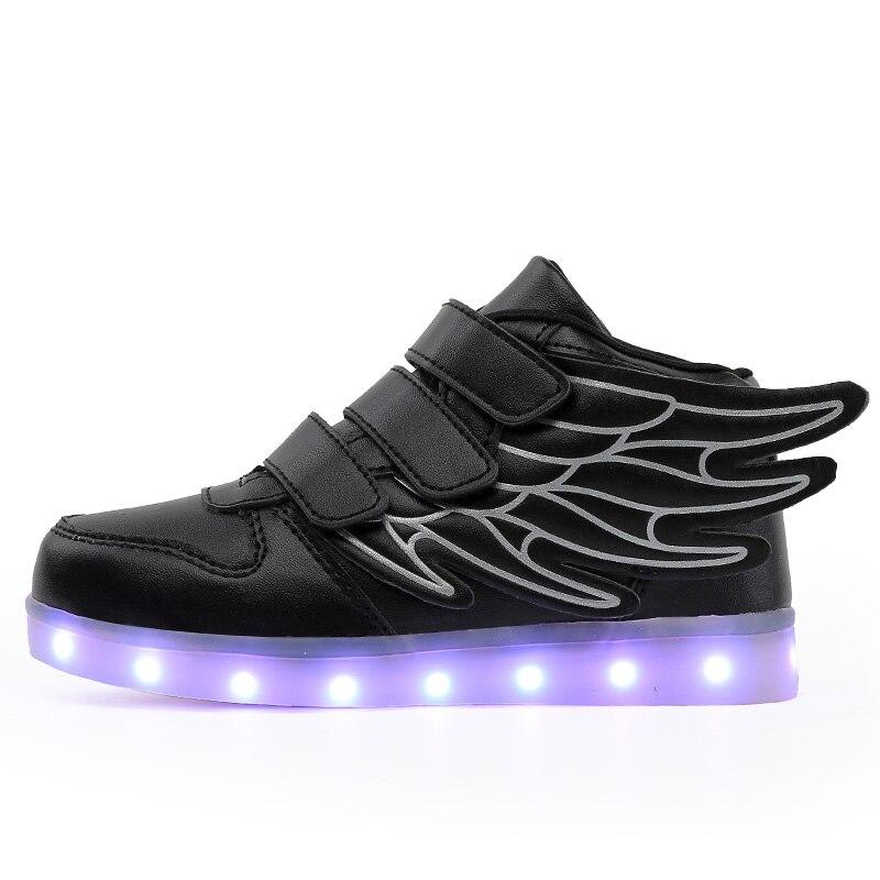 Size 25-33 Children Glowing Sneakers Kid Luminous Sneakers for Boys Girls Led Sneakers with Luminous Sole Lighted ShoesSize 25-33 Children Glowing Sneakers Kid Luminous Sneakers for Boys Girls Led Sneakers with Luminous Sole Lighted Shoes