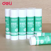 Deli 2017 New Stationery solid glue 10 pcs a pack business Strong Adhesives solid glue School Office Supplies solid glue