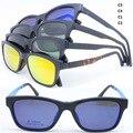 Atacado ULTEM aro completo com megnatic TJ002 clip on óculos polarizados óculos de lente removível caminhantes armações frete grátis