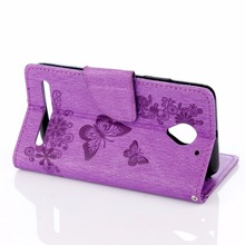 Case with Butterflies and Flowers for Lenovo Vibe C2