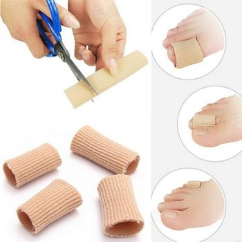 15cm toe protector corrector Fabric Gel Silicone Tube Bunion Toes Fingers Separator Divider Protector Corns Calluses Support