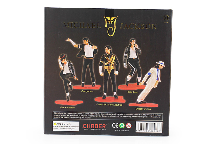 Michael Jackson Action Figure Toys PVC Model Collective Toys for Kid/'s Play 11cm