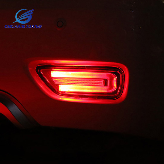 Chuangxiang 2PCS LED Rear Tail Fog Lamp For Nissan Patrol Y62 Armada Accessories 2015 2016