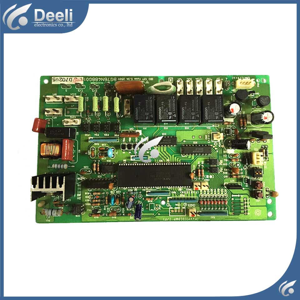 good working for air conditioning computer board 3P/5P BG76N488G01 used board