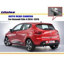 Cámara de Visión Trasera Para Renault Clio 4 2014 ~ 2015/Inversa cámara/CCD HD RCA NTST PAL/Lámpara de La Matrícula OEM