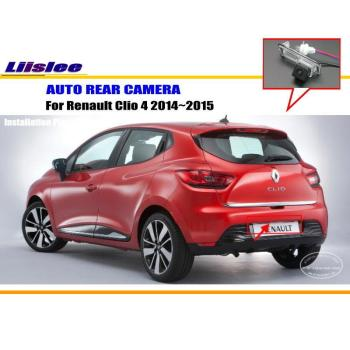 Car Reverse Rear View Camera For Renault Clio 4 2014 2015 2016 Vehicle Accessories Back Up Parking Camera AUTO HD CCD CAM car reverse rearview parking camera for kia sorento x3 2018 rear back view reversing camera auto hd sony ccd iii cam