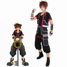 Kingdom Hearts III Sora disfraz Cosplay