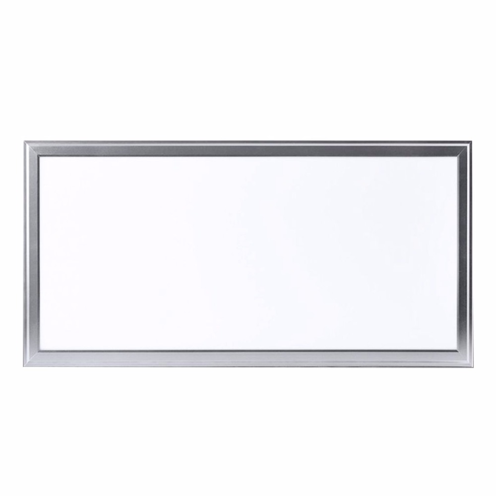5 pieces / lot 24W Led panel light 600x300 1x2ft flat ceiling lamp for kitchen 85 265V