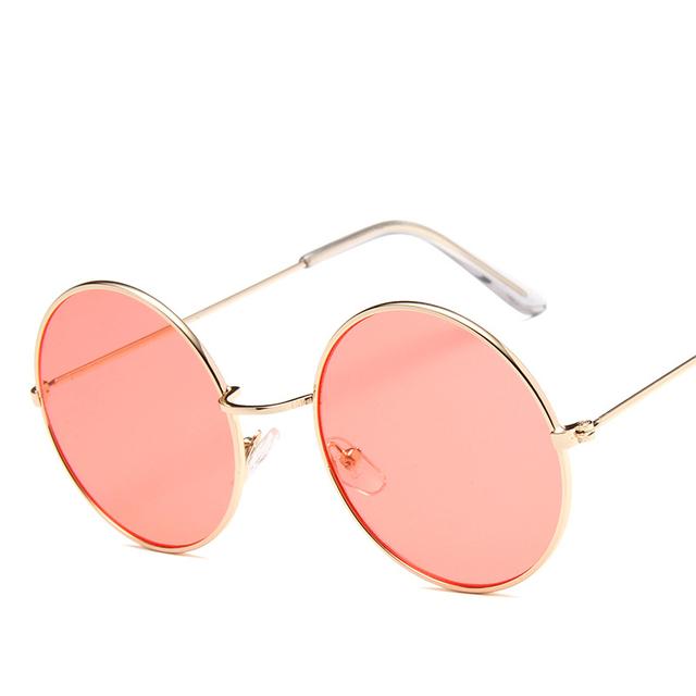 Unisex Round Sunglasses