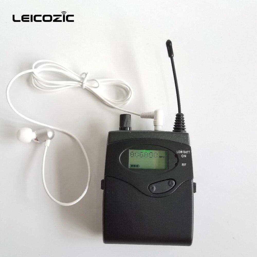 Leicozic BK-510 drahtlose in-ear-monitor-system überwachung bühne ohr monitore persönliche in-ohr monitor wireless system für bühne