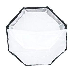Image 5 - TRIOPO 120cm Octagon Softbox Diffusor Reflektor w/Bowens Montieren Licht Box für fotografie Studio Strobe Licht zubehör