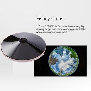 Image 4 - Poe 오디오 hd 1920x1080 p 2.0mp 나이트 비전 fisheye 파노라마 led ir ip 카메라 보안 cctv 시스템 비디오 감시 캠 p2p